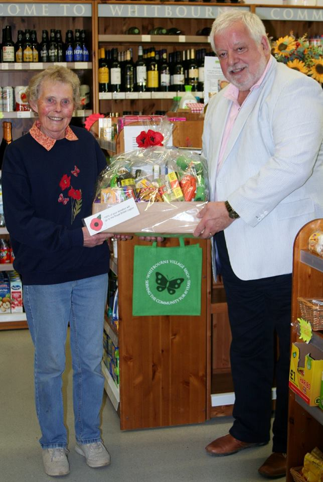 RBL hamper winner Wendy Cummins